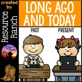Long Ago and Today Activities and Worksheets