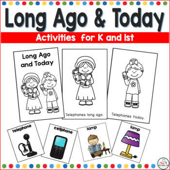 Long Ago and Today Social Studies Activities for November
