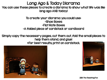 Long Ago and Today Diorama