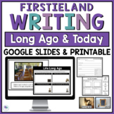 Long Ago And Today Digital Distance Learning Google Slides 100th Day Of School