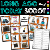 Long Ago and Today SCOOT or Write the Room