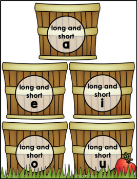 Long And Short Vowel Review Game by Lauren Cipriano   TpT