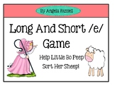 Long And Short /e/ Game
