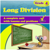 Long Division - grade 4, common core (Distance Learning)