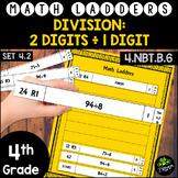 Long Division -  2 Digit Dividends, 1 Digit Divisors - Set 4.2 {Math Ladders}