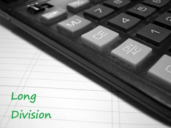 Math: Long Division