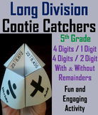 Long Division Game 5th Grade (Practice Activity)