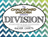 Long Division Anchor Charts (Standard & Non-Standard Algorithms)