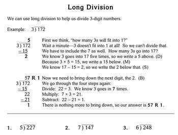 long division 4th grade individualized math. Black Bedroom Furniture Sets. Home Design Ideas
