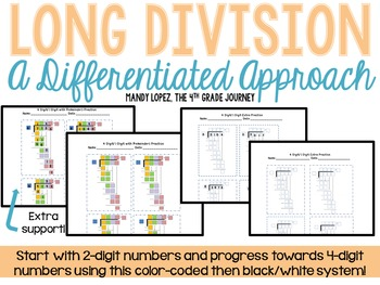 Long Division: A Differentiated Approach