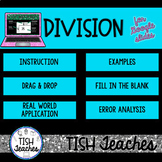 Long Division Activities for Google Slides