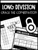 Long Division Activity: Crack the Combination