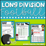 Long Division Activity | Football Math Independent Work Packet