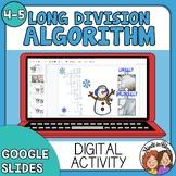 Long Division Algorithm Digital GOOGLE Self Checking Holid