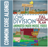 LONG DIVISION Practice | Long Division Worksheets | Word Problems | Song | Video