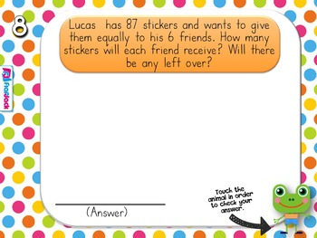 Long Division Animals PowerPoint Game