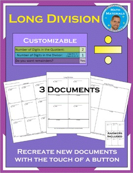 Long Division - Automatically Generated