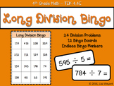 Long Division Game - BINGO