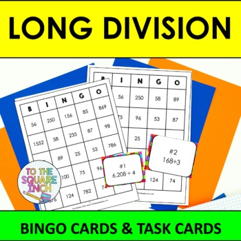 Division Bingo Worksheets & Teaching Resources | TpT