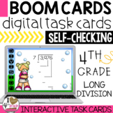 Long Division Boom Cards