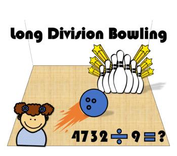 Long Division Bowling Game