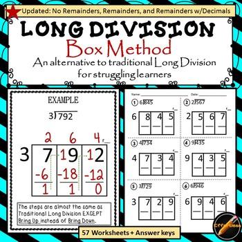 Long Division : Box Method