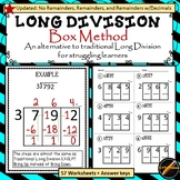 Long Division : Horizontal Box Method- updated