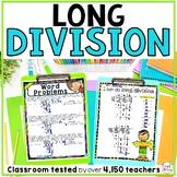 Long Division Worksheets Bundle