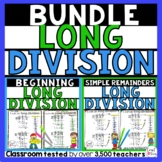 Long Division Worksheets Bundle