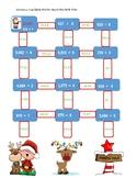 Long Division Christmas maze