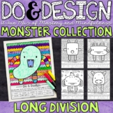 Distance Learning | Long Division Color by Number | Do and Design