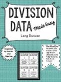 Long Division Data Keeping Made Easy