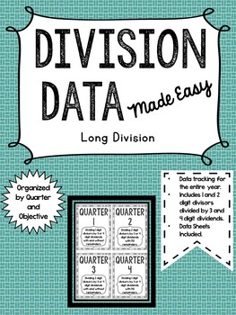 Long Division Data Keeping Made Easy