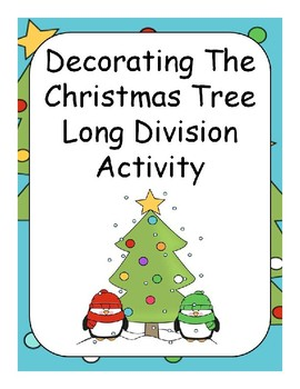 Division Christmas Worksheets