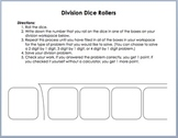Long Division Dice Rollers