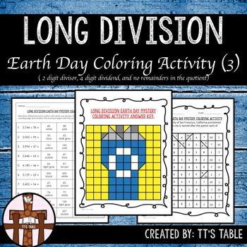 Long Division Earth Day Mystery Coloring Activity (3)