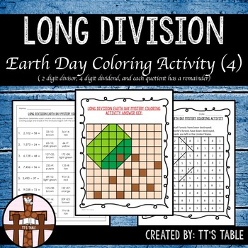 Long Division Earth Day Mystery Coloring Activity (4)
