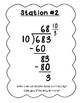 Long Division Error Analysis Stations