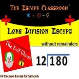 Long Division Escape Room   The Escape Classroom