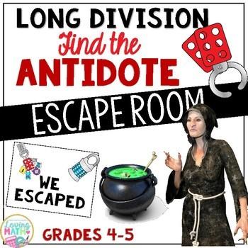Long Division Escape Room