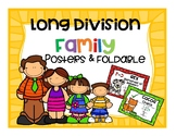 Long Division Family Posters and Foldable