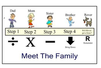 """Long Division """"Family Style"""""""