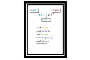 Long Division Flip Book Freebie