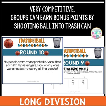 Long Division Game - TRASHKETBALL