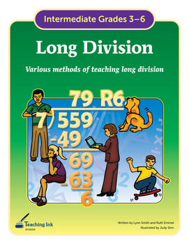 Long Division (Grades 3-6) by Teaching Ink