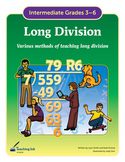 Long Division (Grades 3rd-6th) by Teaching Ink