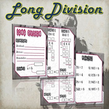 Long Division - (Guided Notes and Practice)