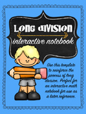 Long Division Interactive Notebook Template