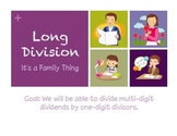 Long Division: It's a Family Thing