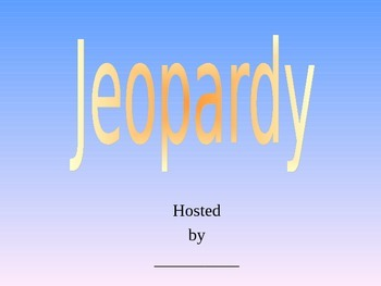 Long Division Jeopardy
